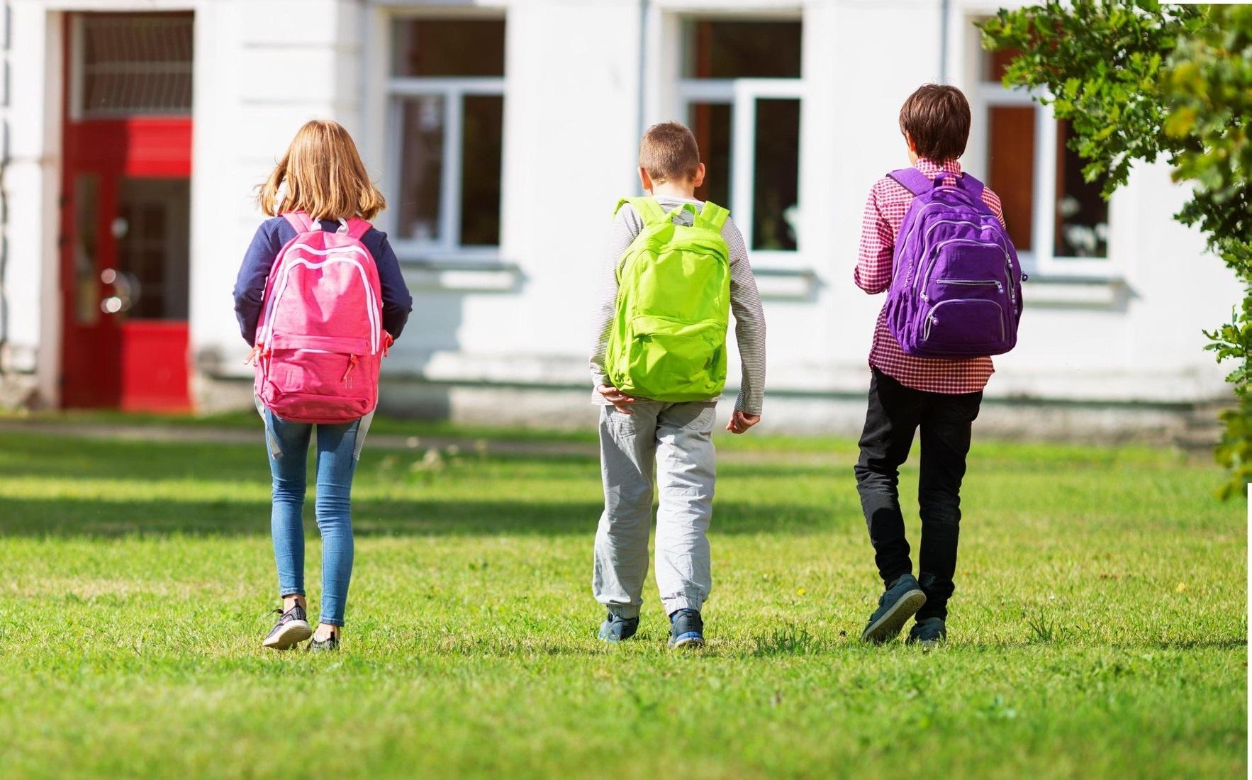 šolske torbe šola otroci